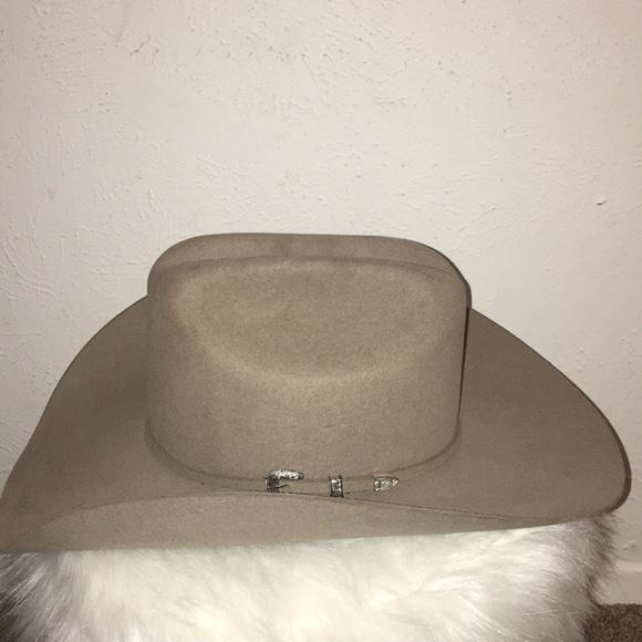 441a08bb24 20X Resistol Beaver Fur Felt Cowboy Hat. M 5bfaffe57386bcf52aebb17f